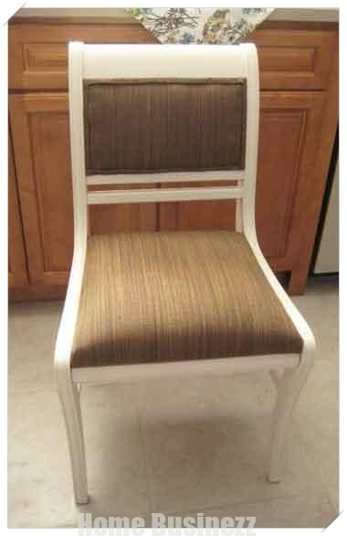 Dining Room Chairs Redo-Again   Dining room chair redo ...