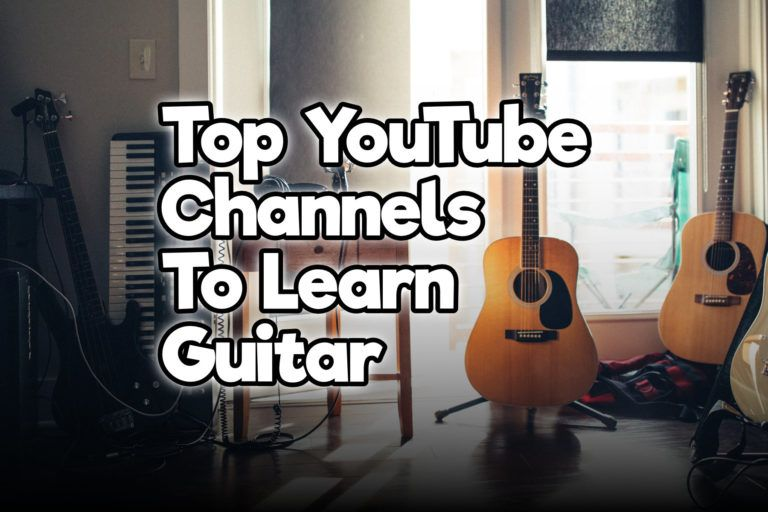 13 Top Youtube Channels To Learn Guitar For Beginners And Advanced Rock Guitar Universe Learn Guitar Learn Guitar Chords Learn Guitar Easy