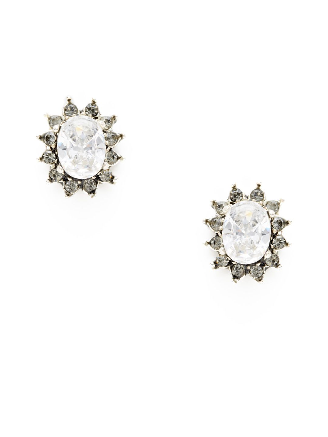 49a793113 Oval Stud Earrings by Azaara Vintage at Gilt | Accessories, Beauty ...