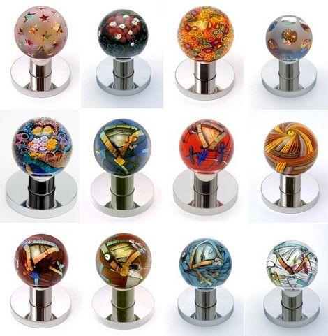 Decorative Glass Door Knobs - art glass doorknobs   Glass door knobs ...