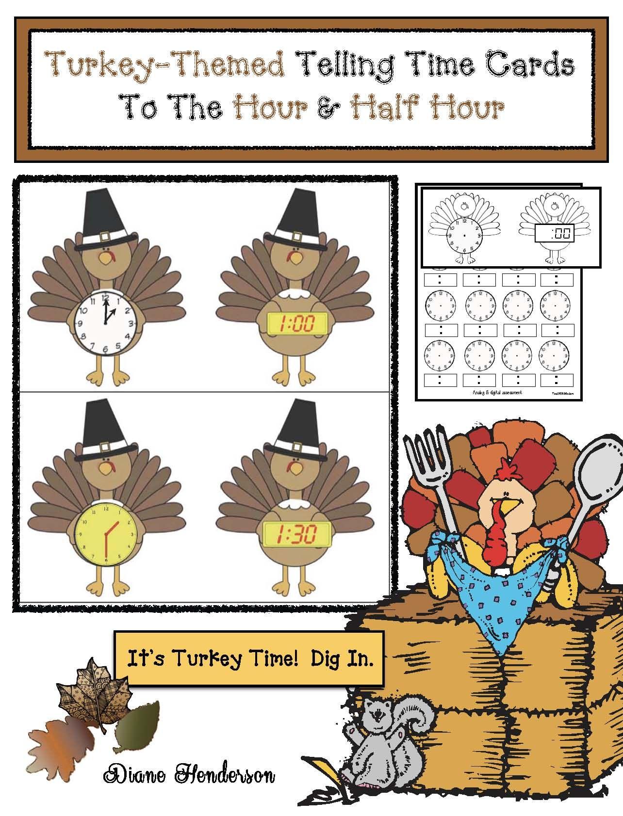 2d Shape Activities With Turkeys