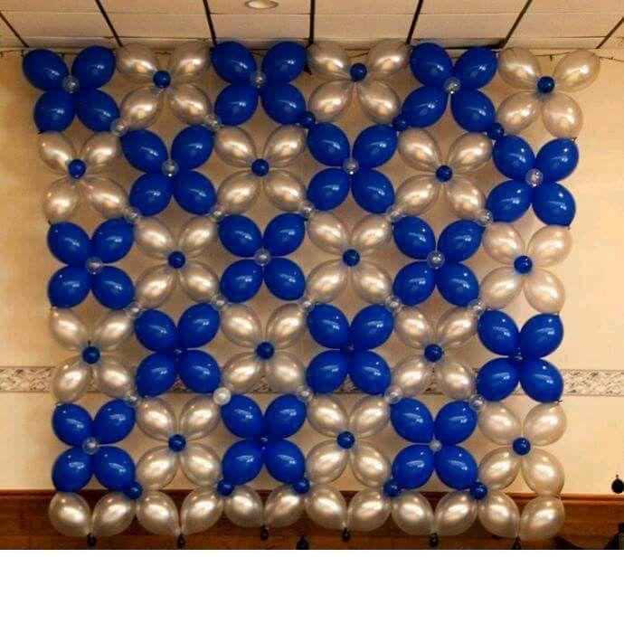 pared globos inka pinterest globo bombas y adornos