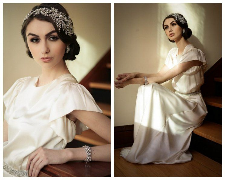 How To Get 3 Great Gatsby Styles From One Wedding Dress SONIA ROSELLI Chicago