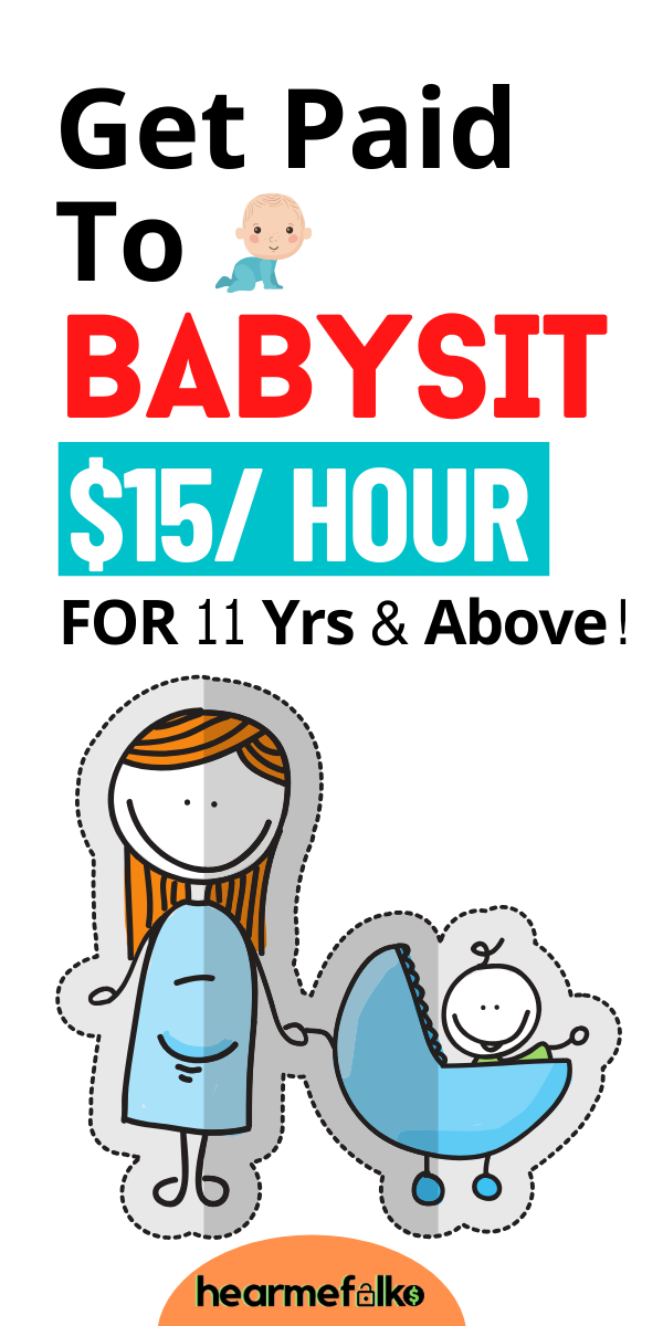 13 Babysitting Jobs For 13 Years Old Get Paid 13 Per Hour Babysitting Jobs Jobs For Teens Babysitting