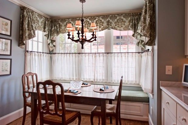 The Phillips Home Ranch Redo Cafe curtains, Cafes and Valance