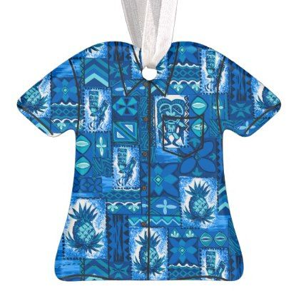 bdba3ea37 Pomaikai Tiki Hawaiian Vintage Tapa Aloha Shirt Ornament - diy cyo  personalize design idea new special custom