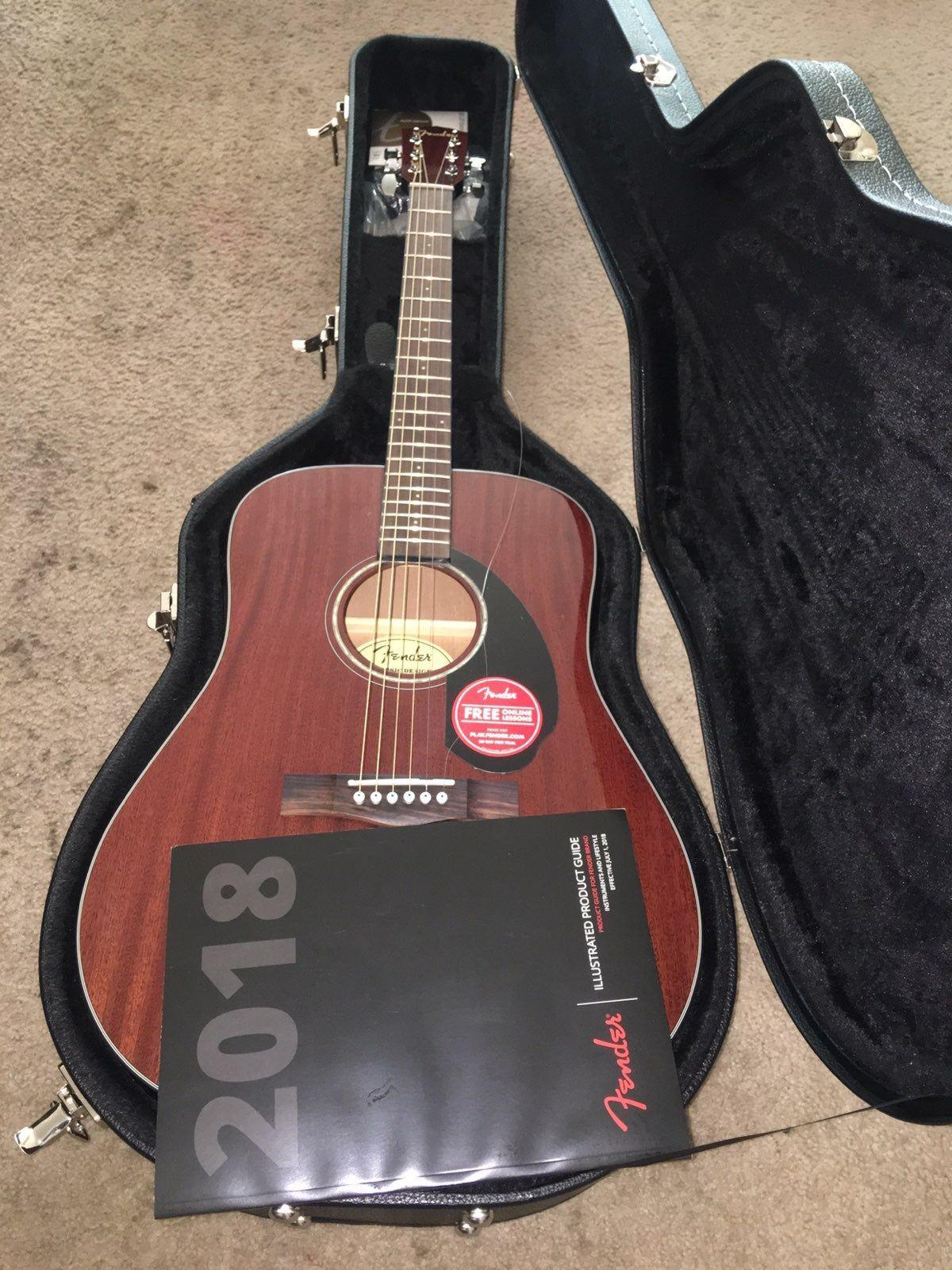 Brand New Acoustic Fender Guitar Guitar Acoustic Fender Guitars