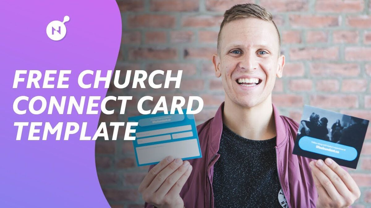 Ultimate Church Connect Card Template Free Download Regarding Church Visitor Card Template Card Templates Free Card Template Templates Free Download