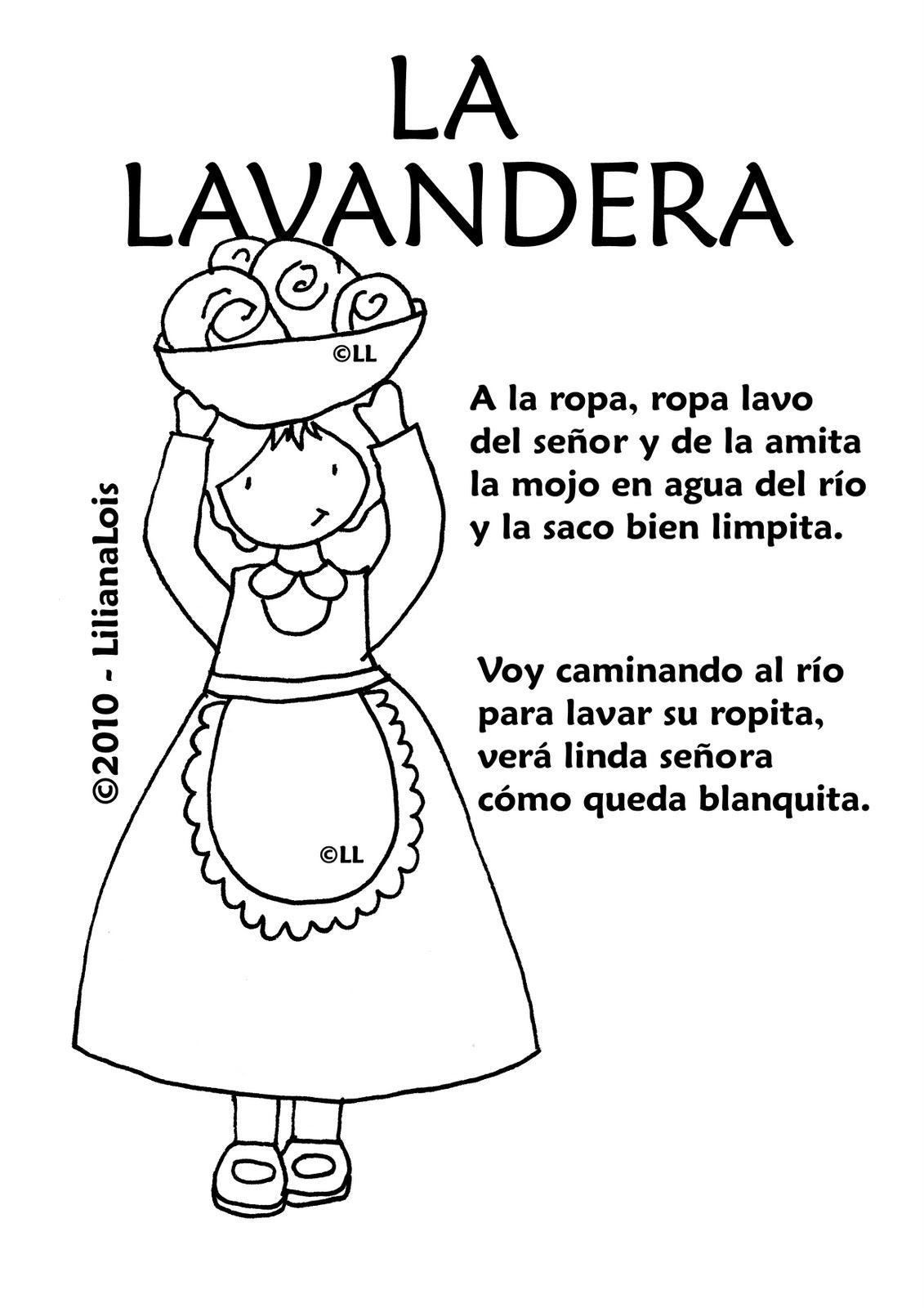 25 De Mayo De 1810 Dibujos Para Colorear Los Vendedores Ambulantes Y