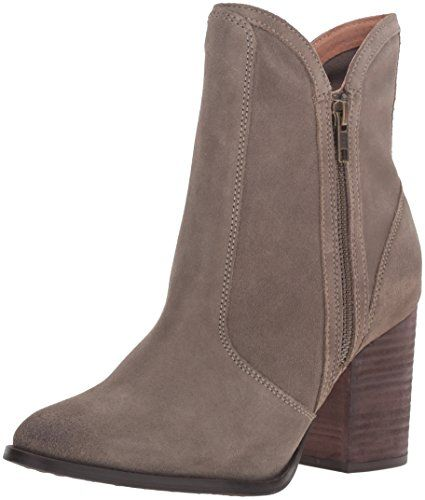 Seychelles Women's Lori Penny Ankle Bootie, Taupe, 6.5 M-$150.00