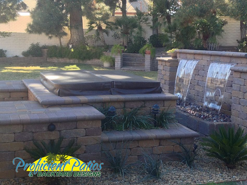 Fire Water Features Water Features Backyard Design Custom Water Feature