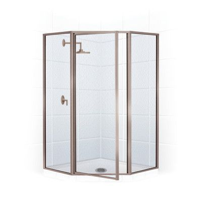 Coastal Shower Doors Legend Neo Angle Series 59 X 70 Hinged Shower Door Shower Doors Coastal Shower Doors Shower Enclosure