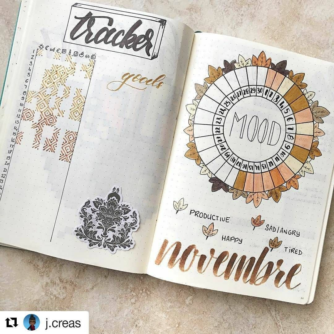 """822 Likes, 5 Comments - Bullet Journal features (@bujobeauties) on Instagram: """"By @j.creas Tag your photos with #bujobeauty for a chance to be featured ・・・ already the…"""""""