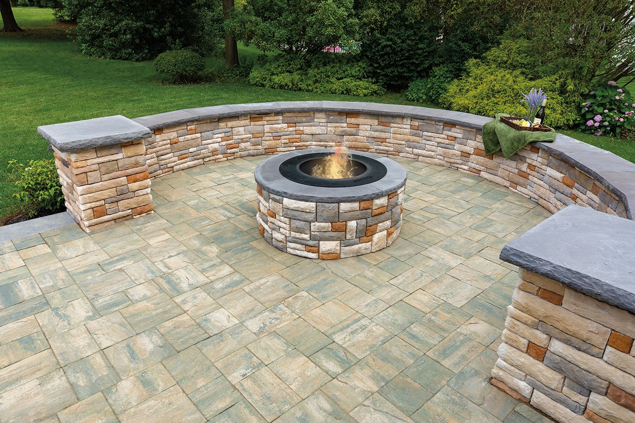 Rev1 Ep H1341 In 2020 Stone Fireplace Wall Custom Fire Pit Patio