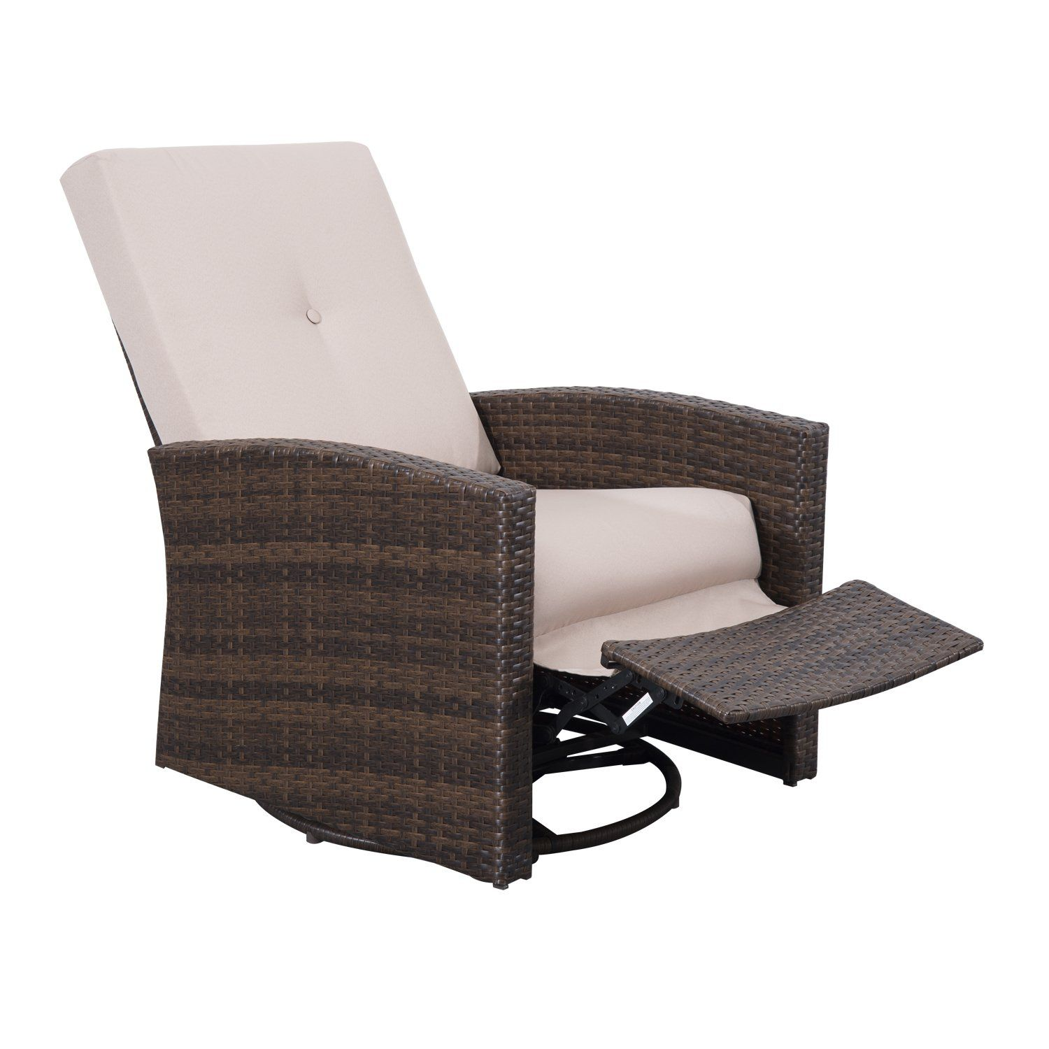 Robot Check Outdoor Recliner Wicker Patio Chairs Deck Chairs