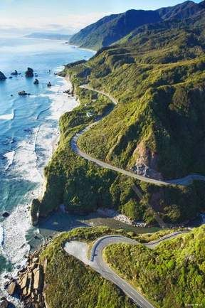 Highway 1, en Californie