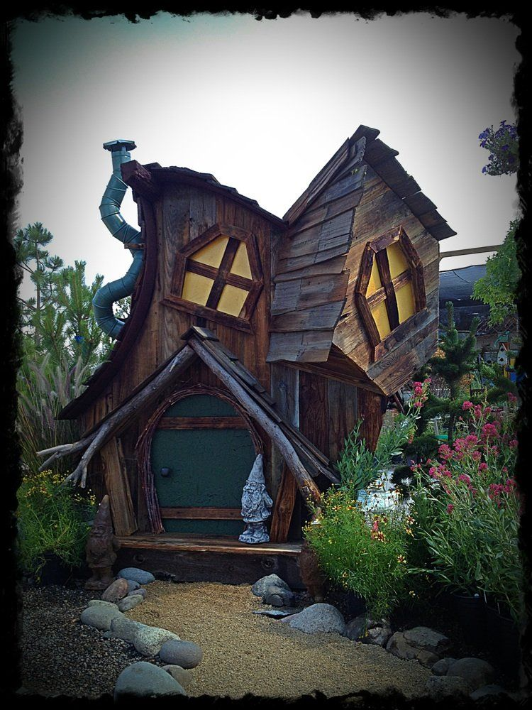 Do It Yourself Home Design: Custom Built Whimsical Garden Sheds!