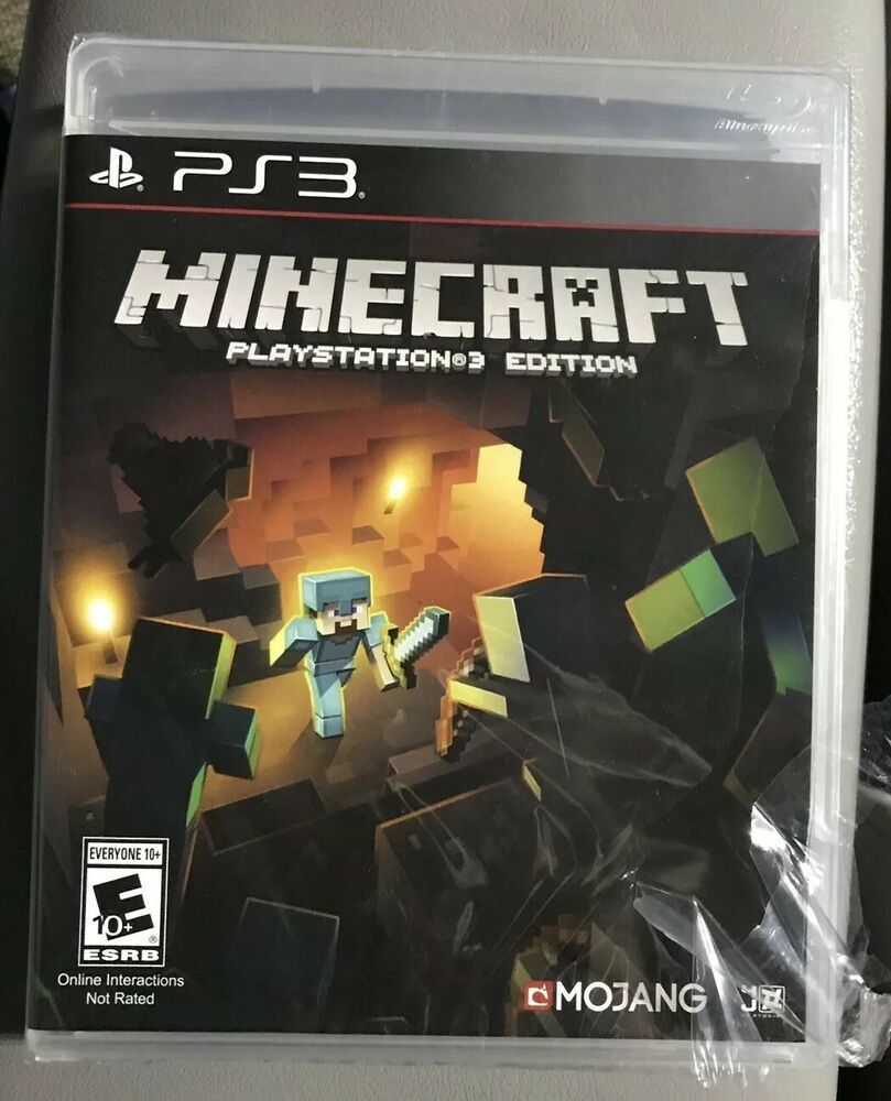 Minecraft Playstation 3 Edition Ps3 Brand New Shrink Wrap Torn Free Shipping Minecraft Playing Game Playstation Sony Playstation Playstation 4