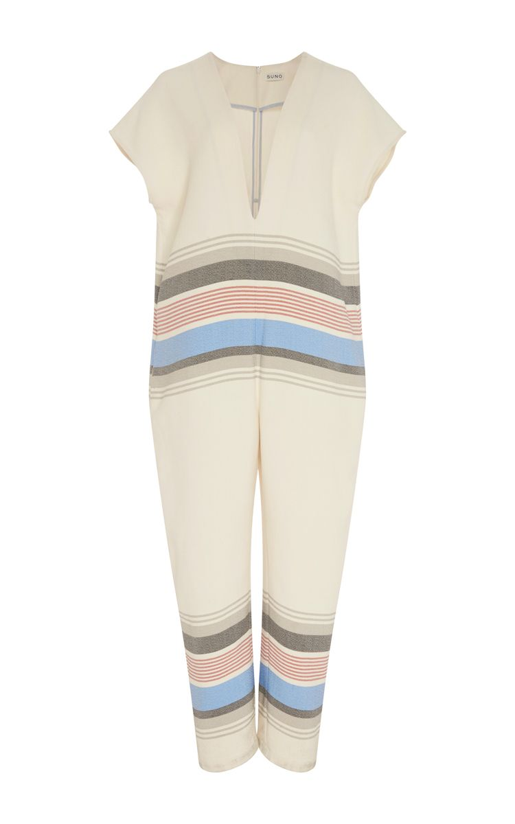 Striped Jumpsuit by SUNO Now Available on Moda Operandi