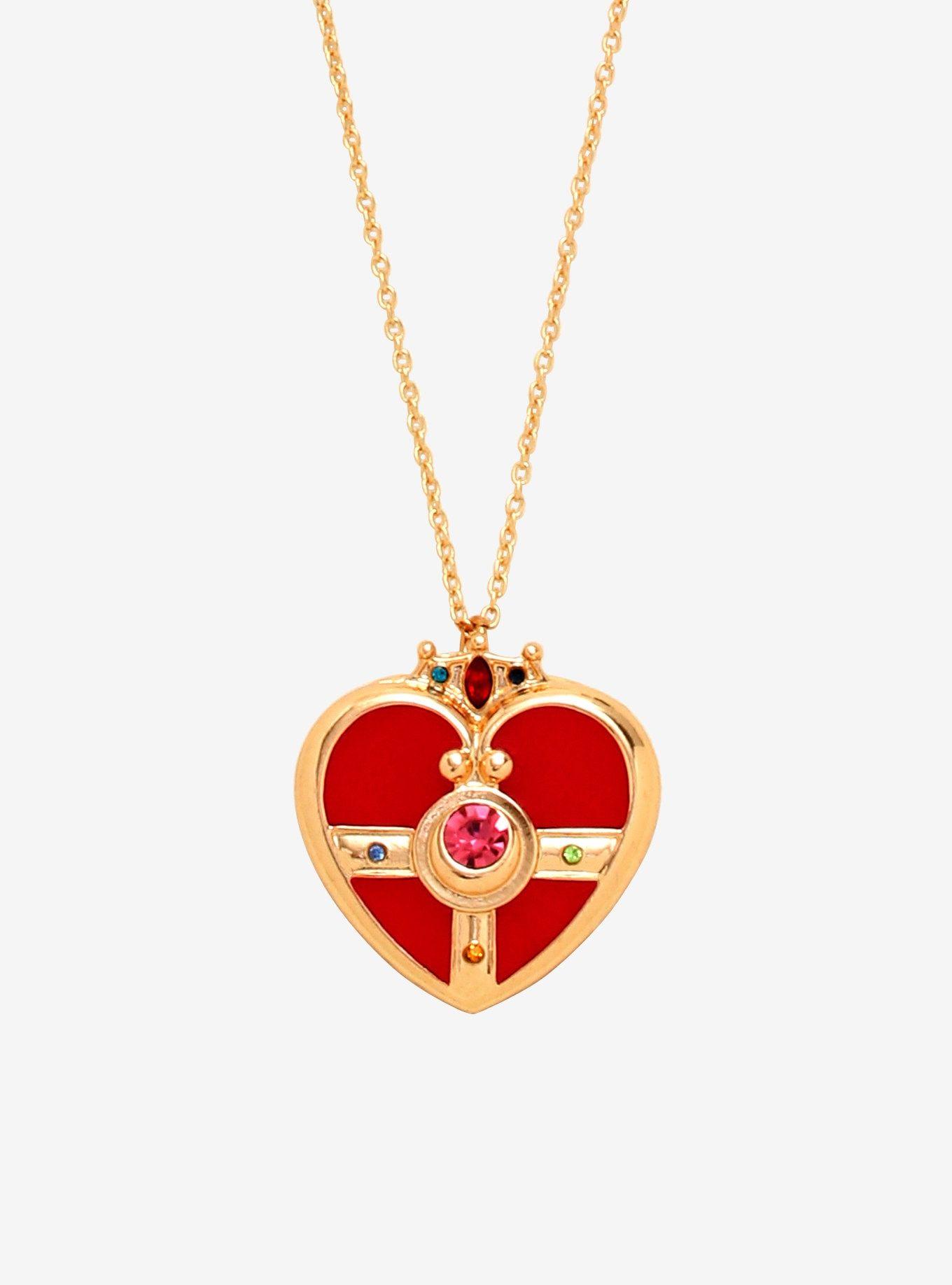 Sailor Moon Cosmic Heart Compact Locket Necklace