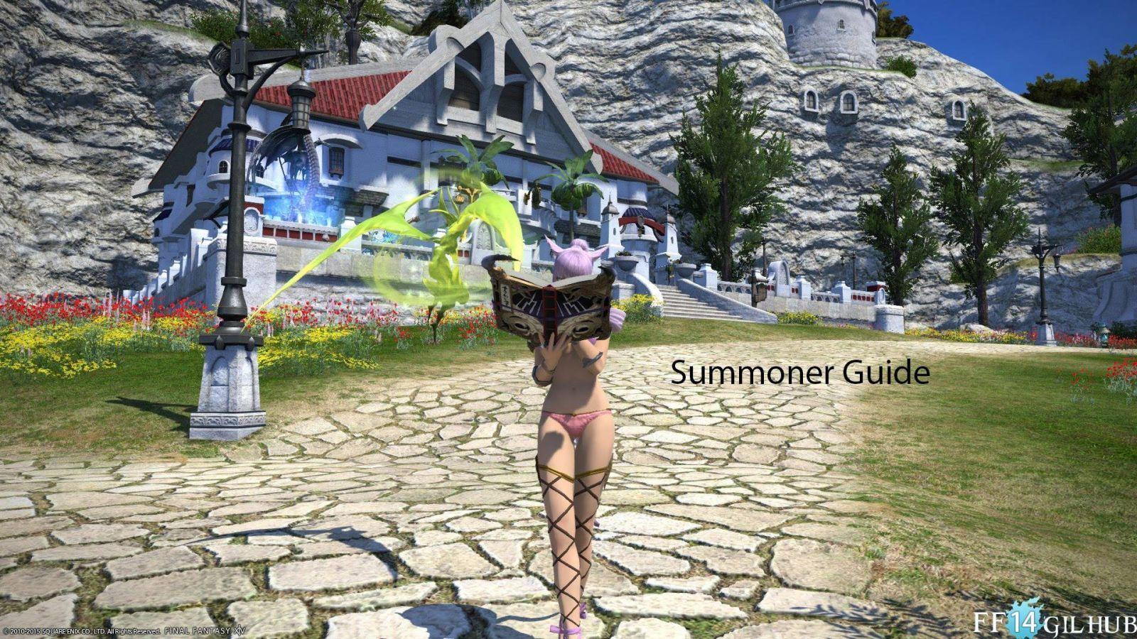 FFXIV summoner | Final Fantasy VIX Gil | Final fantasy, Guild wars