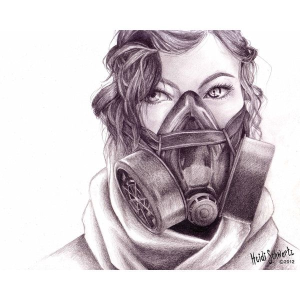Pin By Qualle On My Polyvore Finds Gas Mask Art Gas Mask