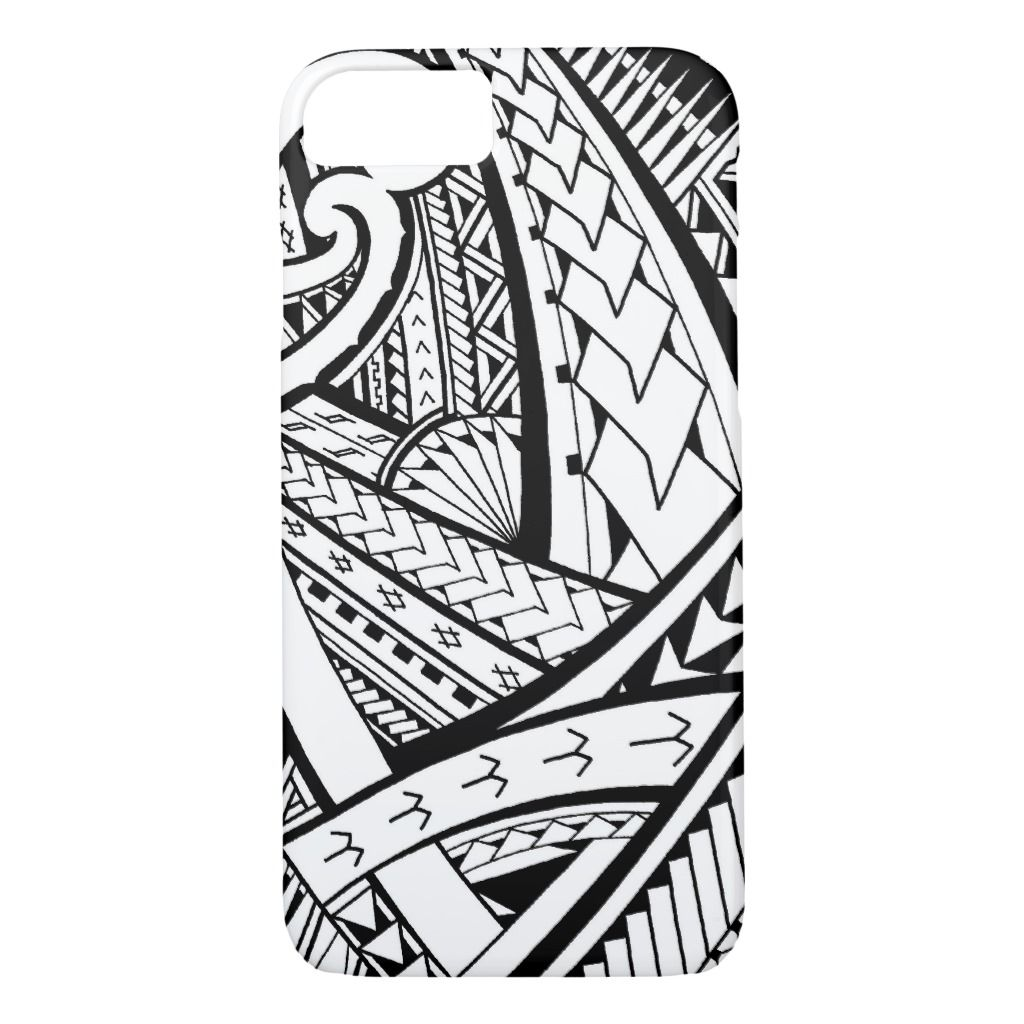 Samoan Tribal Tattoo Design With Spearheads Case Mate Iphone Case Zazzle Com Tribal Tattoos Tribal Tattoo Designs Maori Tattoo