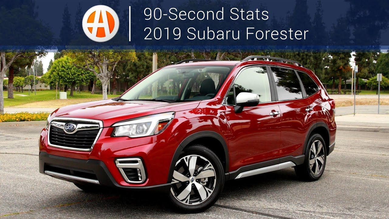 2019 subaru forester 90 second stats autotrader https