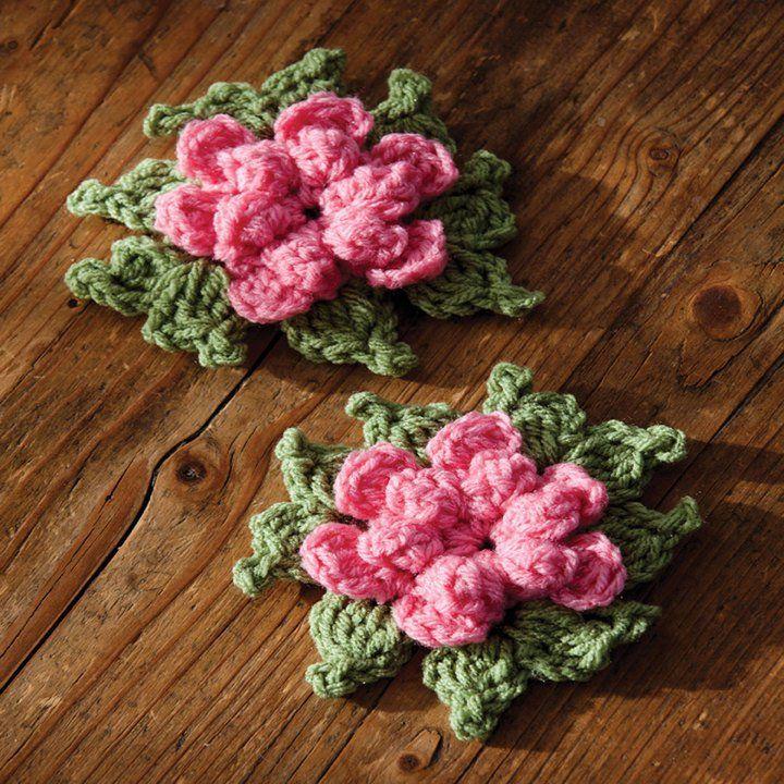 25 Free Flower Crochet Patterns   Ganchillo