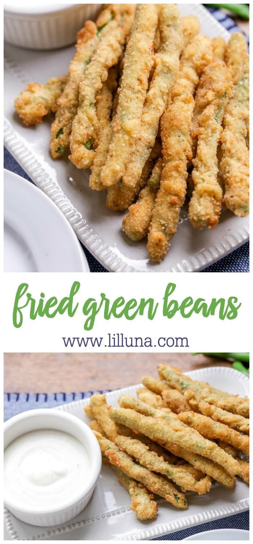 Fried Green Beans {AKA Green Bean Fries}   Lil' Luna