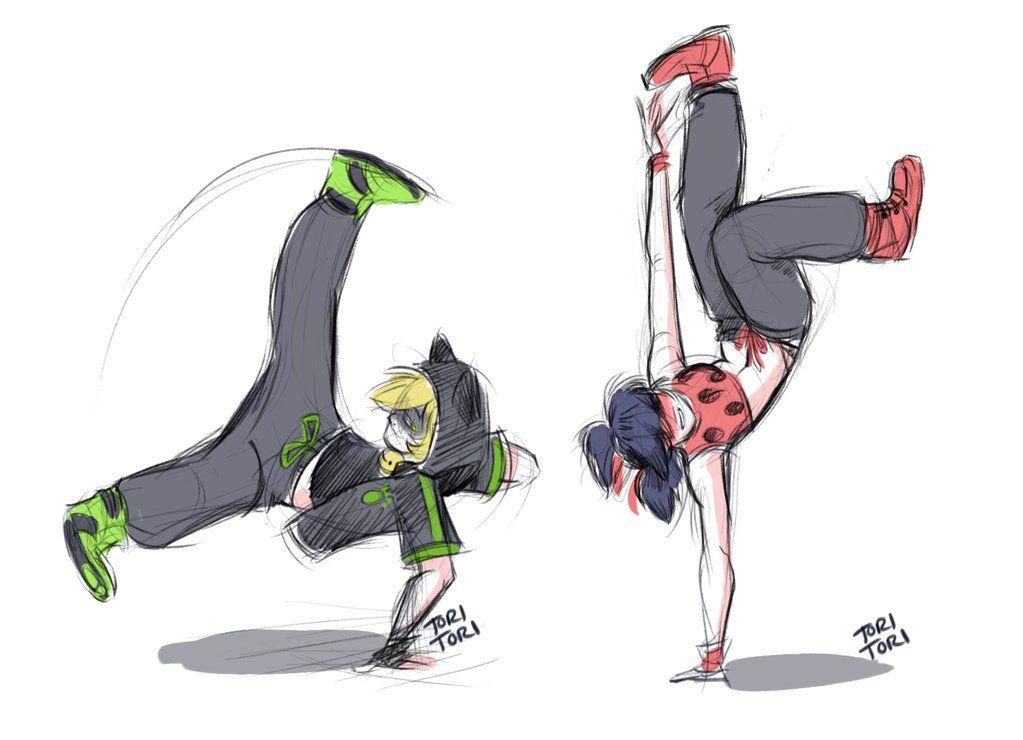 Como Hacer La Libreta De Dibujo De Marinette Prodigiosa: Break Dancing Au - Miraculous Ladybug