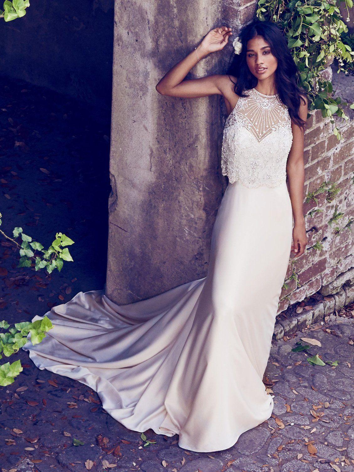 Maggie Sottero Wedding Dresses | Satin slip, Maggie sottero and ...