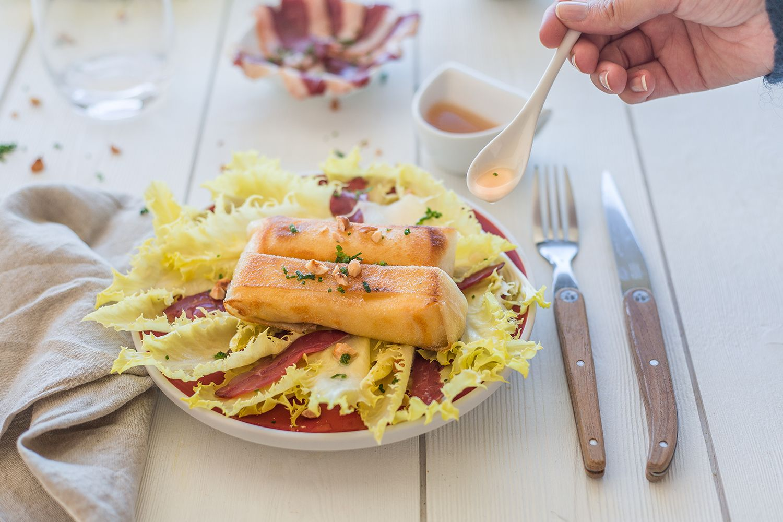 Brick De Reblochon Magret Fume Et Salade Maximag Fr Recettes