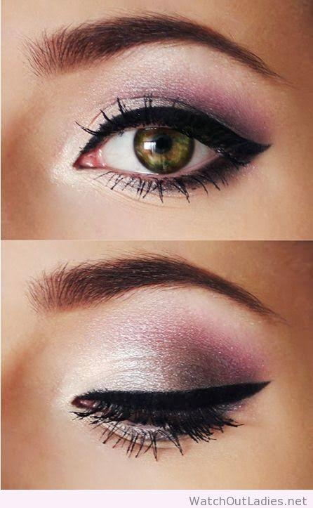 Pink Eye Makeup For Green Eyes Watchoutladies Pinterest