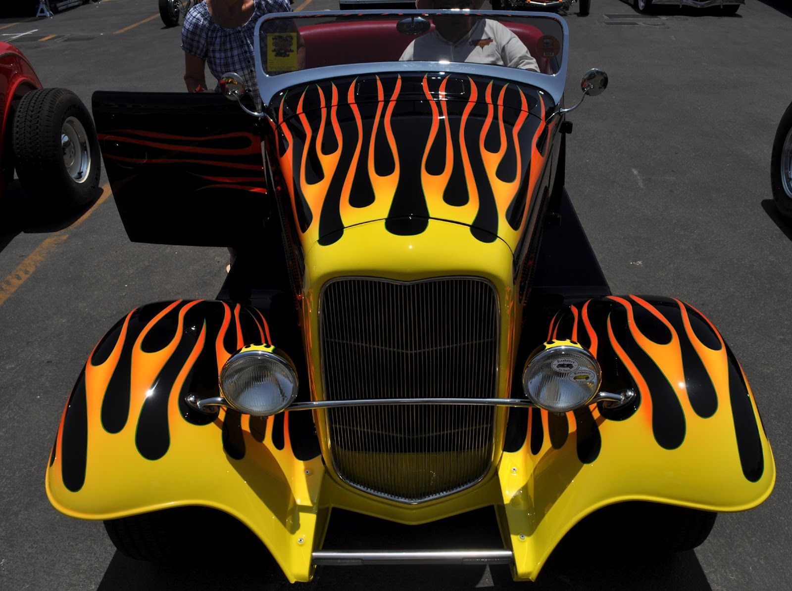 Just A Car Guy Flames May Not Make Them Hot Rods But It Makes - How to make car cooler