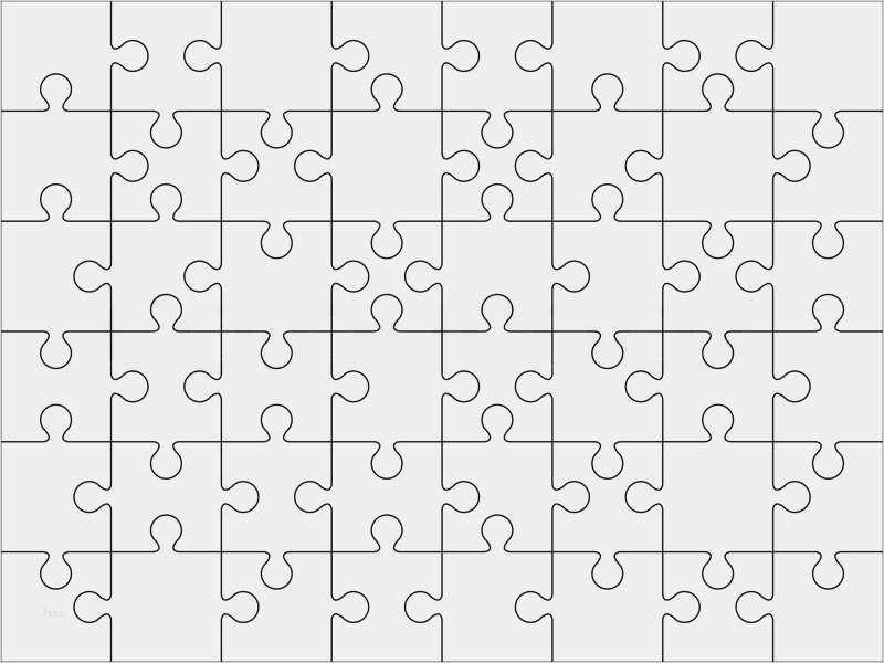 Hubsch Puzzle Leere Vorlage Modelle In 2020 Vorlagen Lebenslauf Vorlagen Word Anschreiben Vorlage