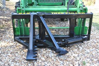 TREE SHEAR BOBCAT SKID STEER QUICK ATTACHMENT Made of 5/8 steel 1/2