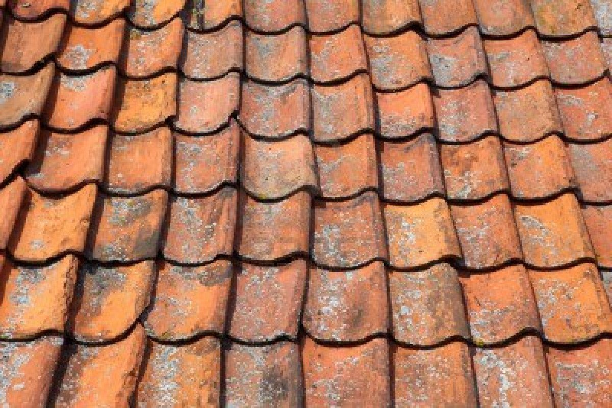 Red clay tile roof | Clay roof tiles, Roof tiles, Roof ...