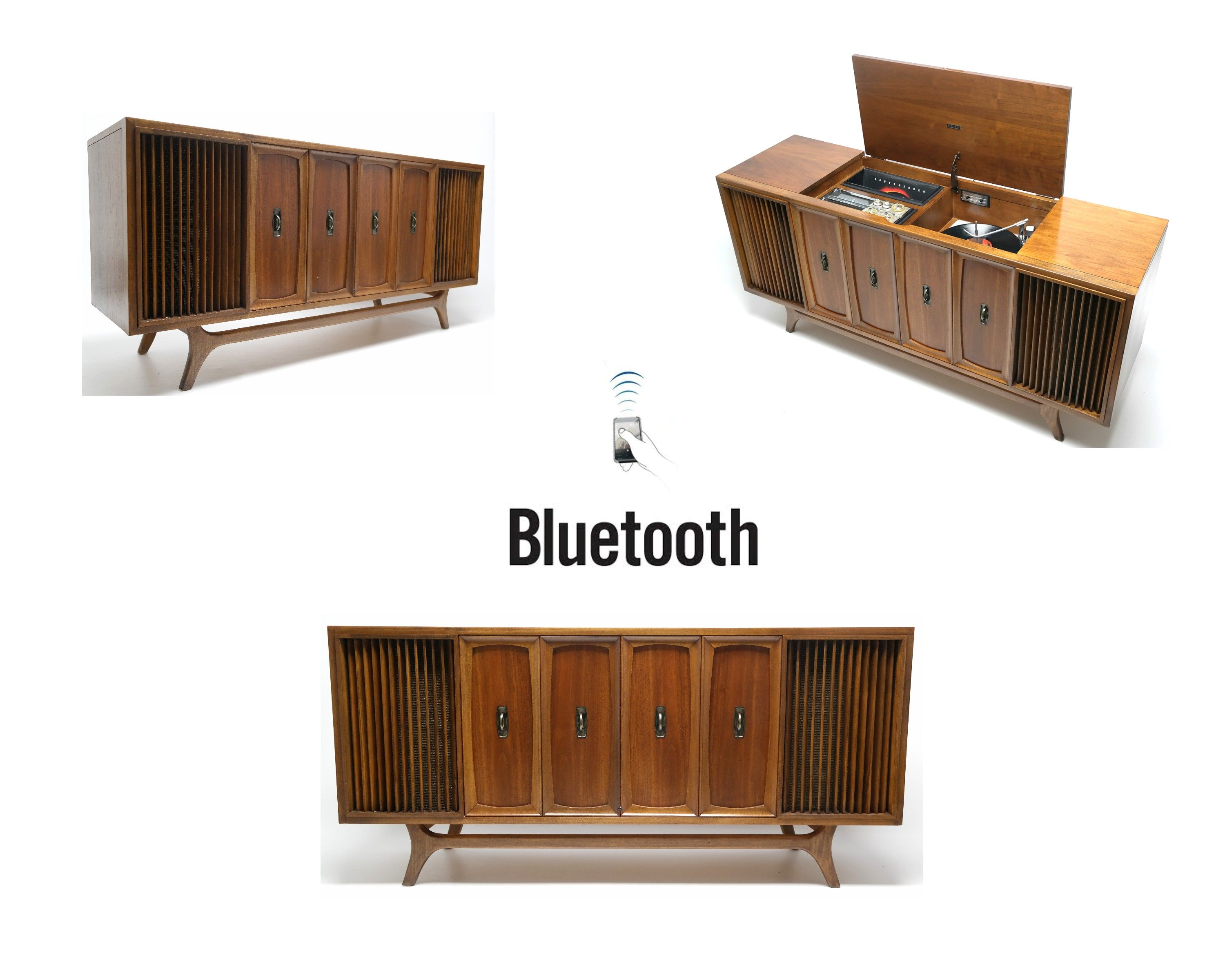 Zenith Vintage Stereo Console Cabinet Record Player Vintage Record Player Vintage Record Player Cabinet Vintage Stereo Console