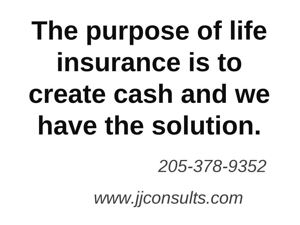 Creating cash universal life insurance critical illness