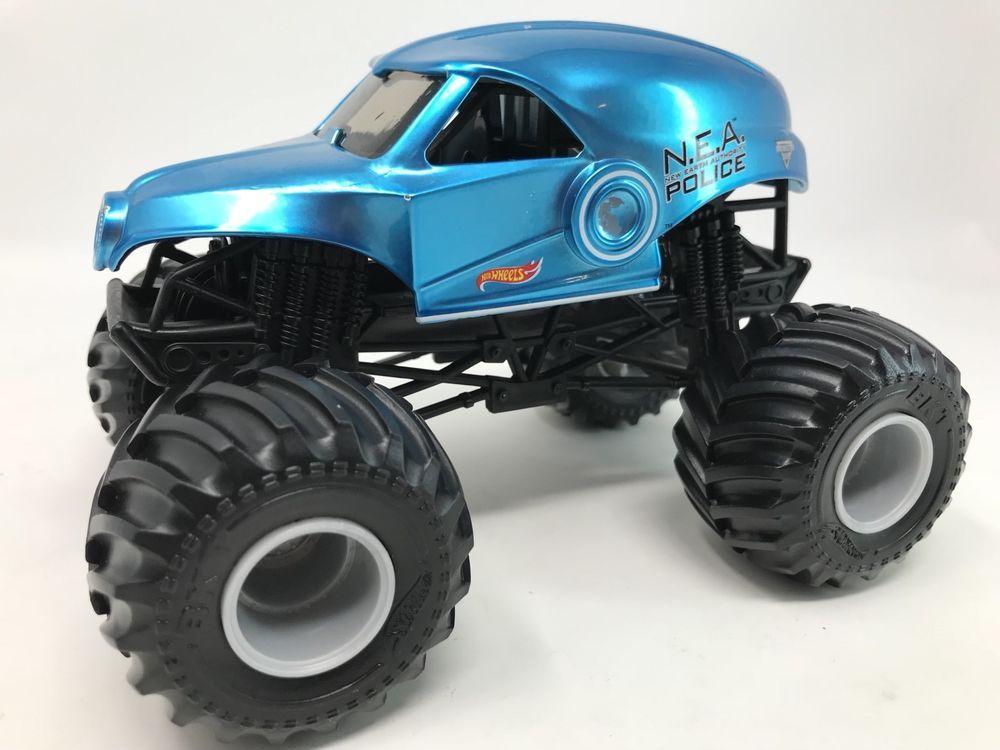2016 hot wheels monster jam truck 124 nea nea police