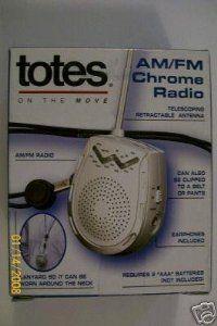 Totes Am Fm Chrome Radio By Totes 32 99 Audio Video Radio
