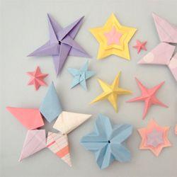 origami stjerner