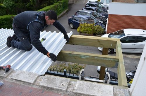 terrasses en bois tanche sur pilotis terrase en 2019 terrasse bois construction terrasse. Black Bedroom Furniture Sets. Home Design Ideas