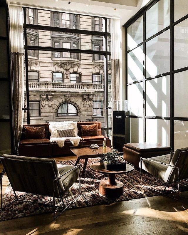 Looking for industrial living room inspiration mix natural rustic furniture with cool coloured click more ideas livingroom homedecor interiors also  construction offices in bangkok thailand by metaphor design rh pinterest