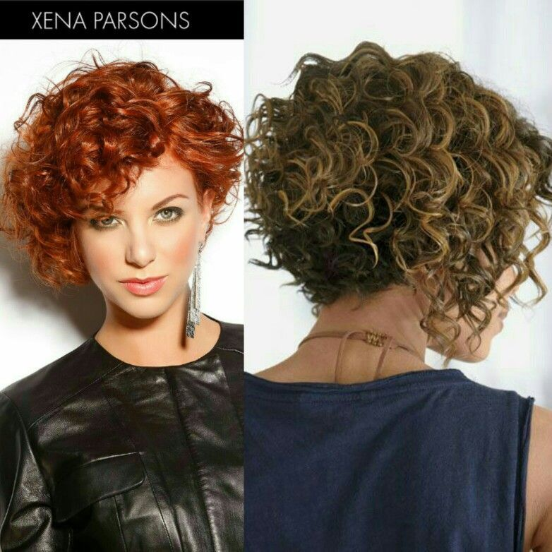 Capelli + #layeredcurlyhair | Short curly hair, Curly hair styles, Rocker hair