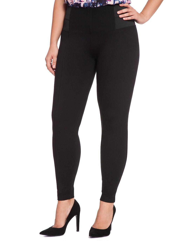 miracle flawless leggings | women's plus size pants | eloquii