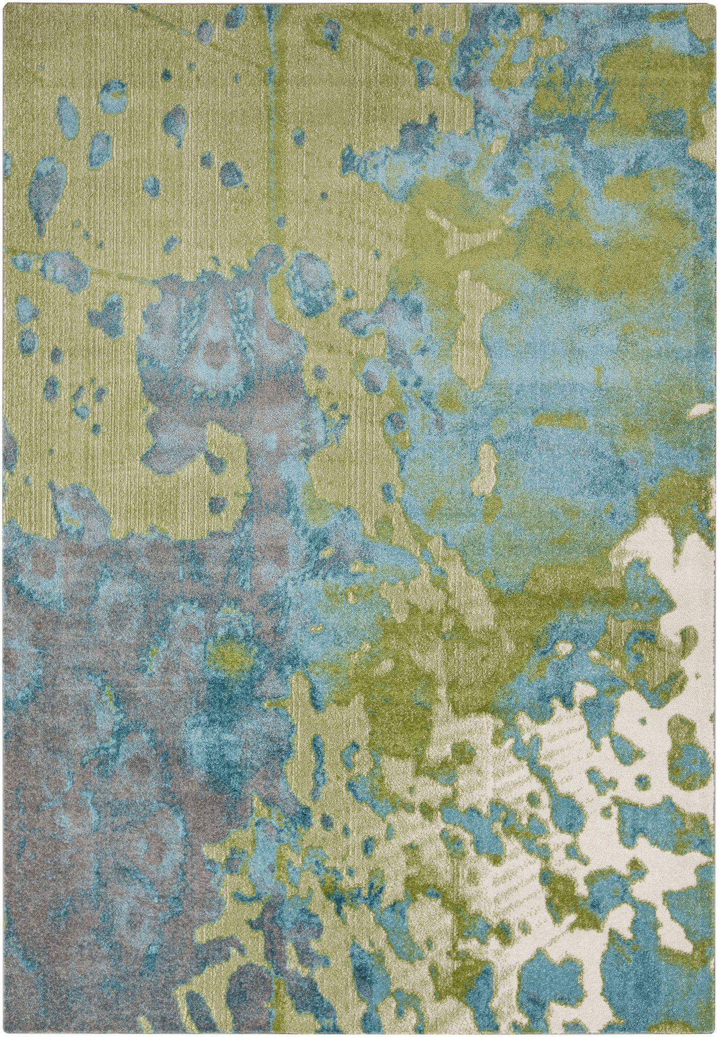 Surya Abe8015 Aberdine Blue Green Rectangle Area Rug Modern Area Rugs Contemporary Area Rugs Area Rugs