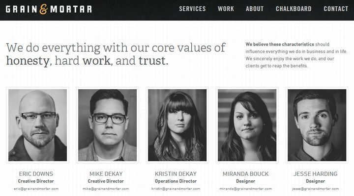 50 Web Layouts For Showcasing Company Teams Employees About Us Page Design Webpage Layout Web Design Tips