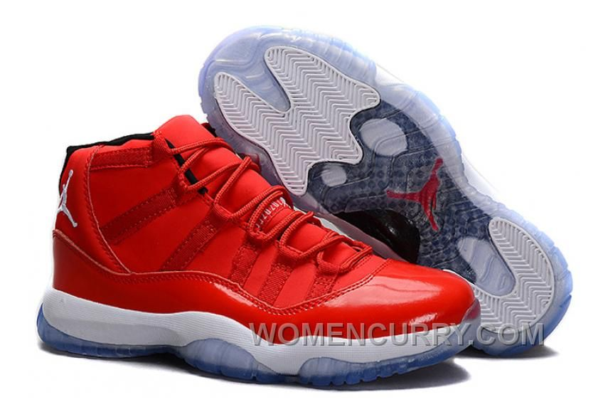 Clearance Nike Air Jordan Xi 11 Retro Mens Shoes High Chinese Red White  from Reliable Big Discount! 5c232f877
